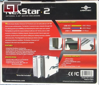 NexStar 2 Rear Packaging